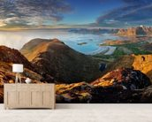 Lofoten Landscape wall mural living room preview