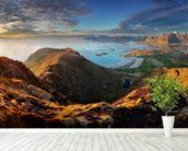 Lofoten Landscape wall mural in-room view