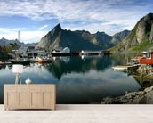 Hamnoy wall mural living room preview