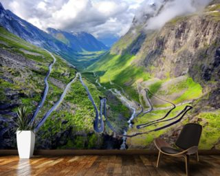 Trollstigen wallpaper mural