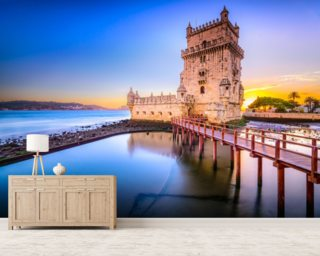 Lisbon - Belem Tower mural wallpaper