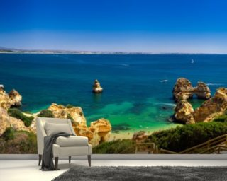 Algarve View wallpaper mural