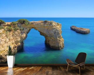 Algarve Beach - Arch mural wallpaper