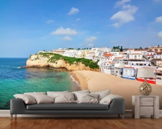 Algarve - Carvoeiro Beach wallpaper mural