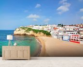 Algarve - Carvoeiro Beach wallpaper mural living room preview