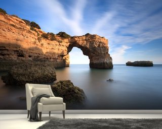 Algarve Beach mural wallpaper
