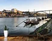 River Douro, Porto mural wallpaper kitchen preview