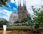 Sagrada Familia, Barcelona wall mural kitchen preview