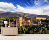 Alhambra, Granada wall mural living room preview