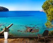 Idyllic Mallorca Sea View wallpaper mural kitchen preview