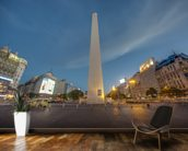 The Obelisk, Buenos Aires. mural wallpaper kitchen preview