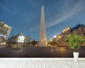 The Obelisk, Buenos Aires. mural wallpaper in-room view