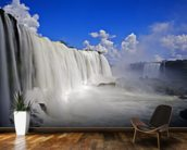 Iguassu Falls mural wallpaper kitchen preview