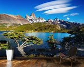 Mount Fitz Roy, Patagonia wallpaper mural kitchen preview