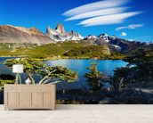 Mount Fitz Roy, Patagonia wallpaper mural living room preview