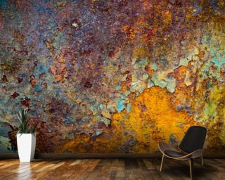 Core of Corrosion Mural Wallpaper Wall Murals Wallpaper