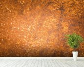 Rust Surface wall mural in-room view