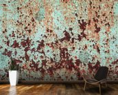 Corroded Artistic Metal wallpaper mural kitchen preview