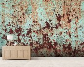 Corroded Artistic Metal wallpaper mural living room preview