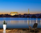 Monument Reflections at Twilight wall mural kitchen preview