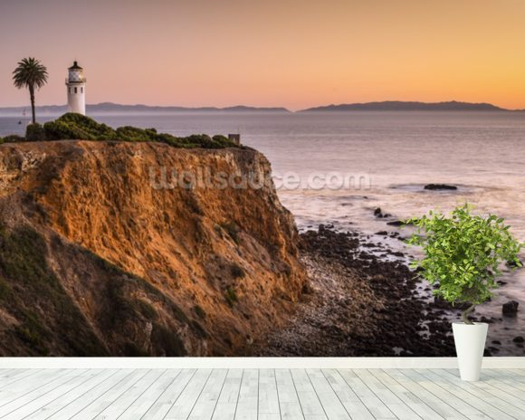 Vicente Point, Rancho Palos Verdes wallpaper mural room setting