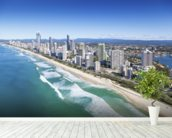 Gold Coast, Queensland wallpaper mural in-room view