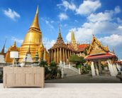 Bangkok - Wat Phra Kaeo wall mural living room preview