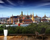 Bangkok - Grand Palace at Dusk wall mural kitchen preview