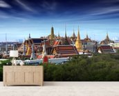 Bangkok - Grand Palace at Dusk wall mural living room preview