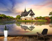 Thailand - Sanphet Prasat Palace wall mural kitchen preview