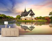 Thailand - Sanphet Prasat Palace wall mural living room preview