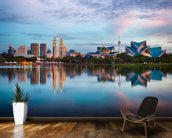 Kuala Lumpur Skyline wall mural kitchen preview