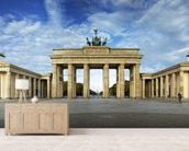 Brandenburger Gate wallpaper mural living room preview
