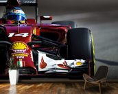 Fernando Alonso wall mural kitchen preview