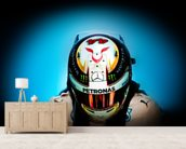 Lewis Hamilton wall mural living room preview