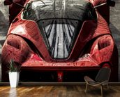 La Ferrari wallpaper mural kitchen preview