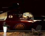 Sebastian Vettel Ferrari wall mural kitchen preview