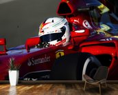 Sebastian Vettel mural wallpaper kitchen preview