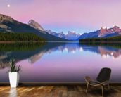 Maligne Lake wallpaper mural kitchen preview