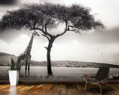 Under the African Sun wallpaper mural kitchen preview
