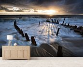 Shipwrecked wall mural living room preview