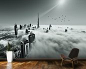 Cloud City wallpaper mural kitchen preview