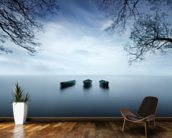 Three Boats wallpaper mural kitchen preview