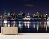 Montreals Night wall mural living room preview