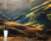 Tuscany Sunrise wallpaper mural kitchen preview