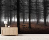 Silence wall mural living room preview