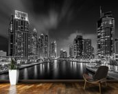 Dubai Marina wallpaper mural kitchen preview