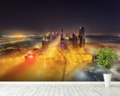 Abu Dhabi wall mural in-room view