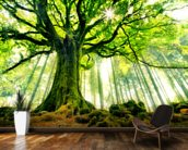 Mother Tree mural wallpaper kitchen preview