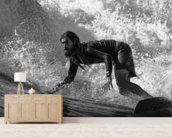 Cruising the Surf wall mural living room preview